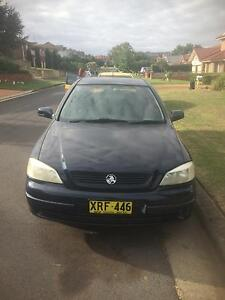 2001 Holden Astra Hatchback Campbelltown Campbelltown Area Preview