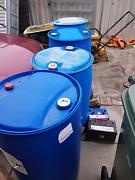 200L plastic barrels Yangebup Cockburn Area Preview
