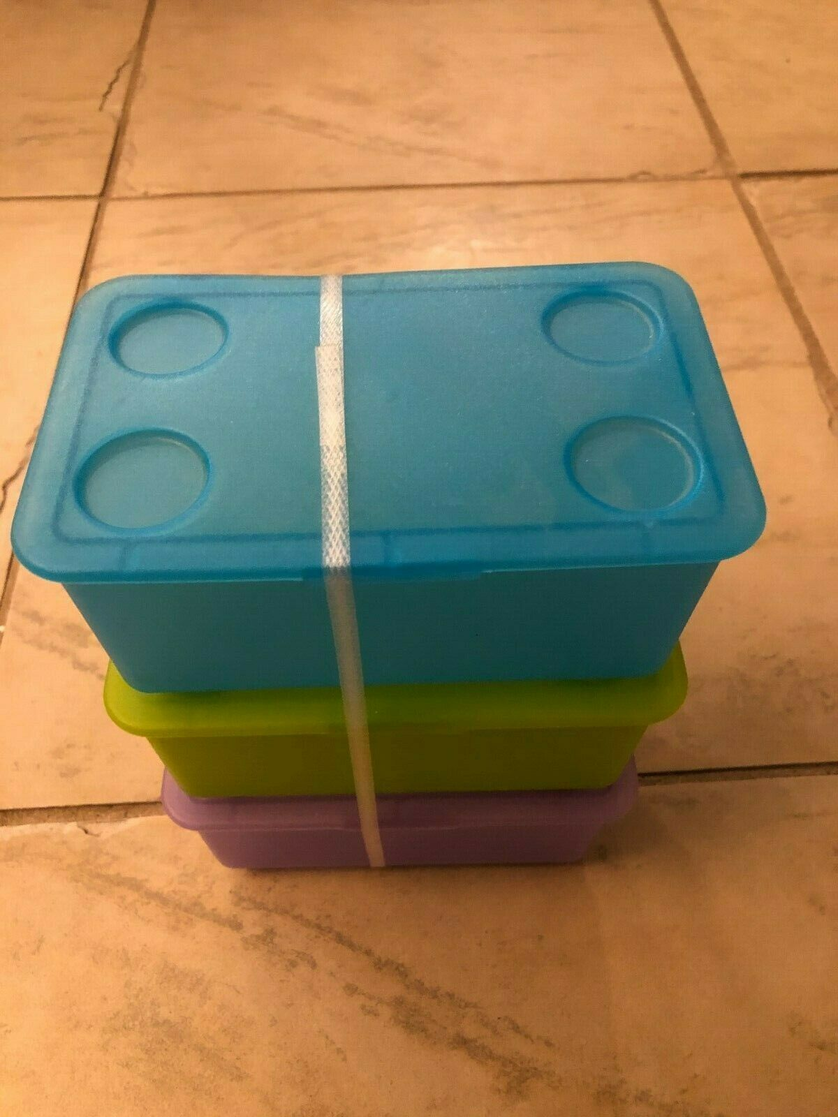 Plastic organizer storage box container file school office 3