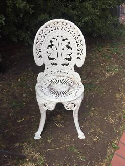 Aluminium Cast patio chair