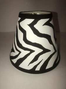 Animal print lamp shade ebay zebra print lamp shade african lampshade animal print black white new mozeypictures Choice Image
