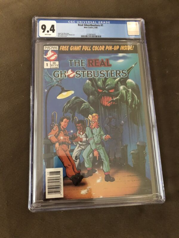 The Real Ghostbusters #1 CGC 9.4 NOW COMICS