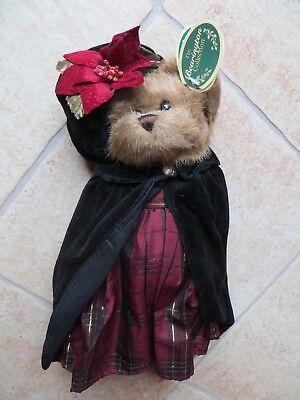 The Bearington Collection Victoria 1368 Stuffed Plush Bear NEW