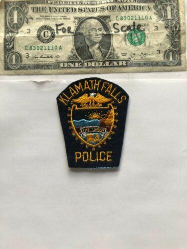 Klamath Falls Oregon Police Patch un-sewn great condition