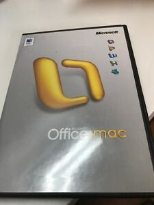 MS Office 2004 MAC