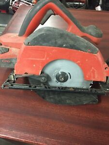 Hilti 7 1/4 cordless saw with 36 volt battery and charger