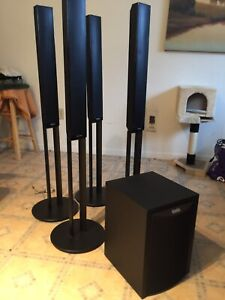 Awesome set of home theatre speakers/ surround sound