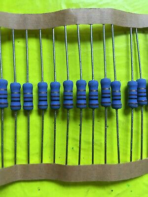 Sei Rs-1 1w 1 Watt Metal Oxide Film Resistor 100 Ohm Flameproof 5 Tolerance