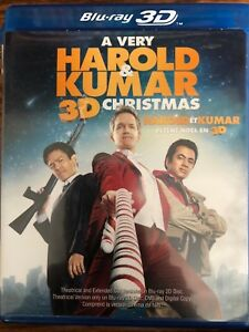 A very Harold & Kumar 3D Christmas Blu Ray