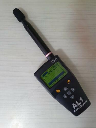 NTI Audio AL1 Acoustic Analyzer with USB Acoustilyzer Schallpegelmesser