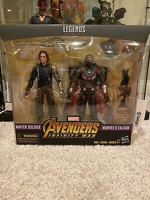 Marvel Legends Falcon And Winter Soldier Bucky NEW!!
