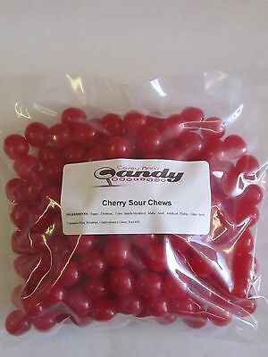 Cherry Sour Chewy Candy  2 Pounds -
