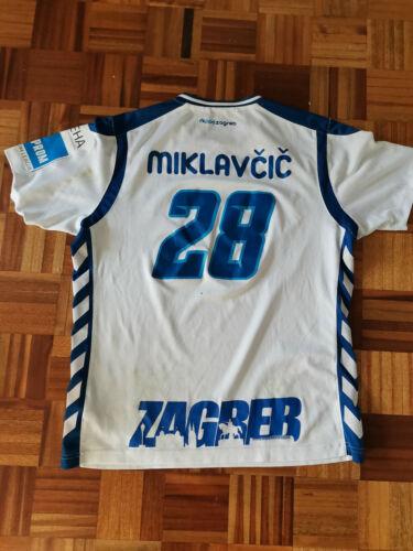 DAVID MIKLAVCIC  Match Worn Jersey SEHA LEAGUE Handball club PPD Zagreb Croatia