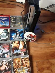 80 gigabyte PS3 with 13 games