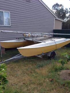 14 ft Catamaran