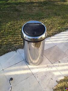 Brabantia Brilliant Steel 60L Touch Bin in excellent condition Seaforth Manly Area Preview