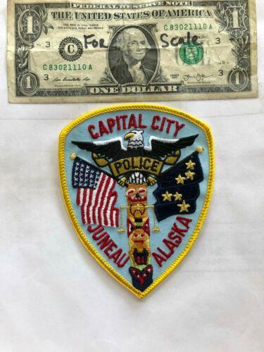 Juneau Alaska Police Patch (Capitol City) Un-sewn great shape