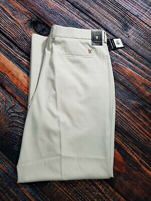 Oxford Golf Super Dry Stretch Pants Cream Size 40 x 32 Stretch & Recover