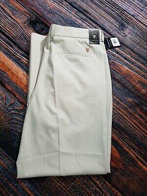 Oxford Golf Super Dry Stretch Pants Cream Size 40 x 32 Stretch & Recover