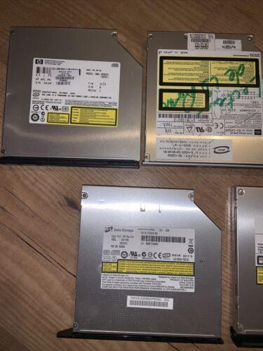 Lot de lecteurs dvd (x6) pour pc portable / laptop
