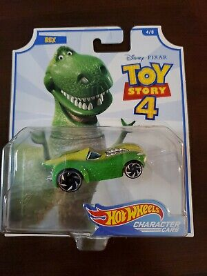 Rex - Disney/Pixar Toy Story 4 Character Cars - Hot Wheels (2019)