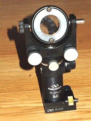 Melles Griot Precision Gimbal Mount On M-vph-2 Post For 25 Mm 1