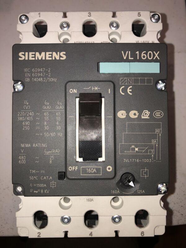 SIEMENS 3VL2716-1AA31-0AA0 / 3VL27161AA310AA0 (New In Box)