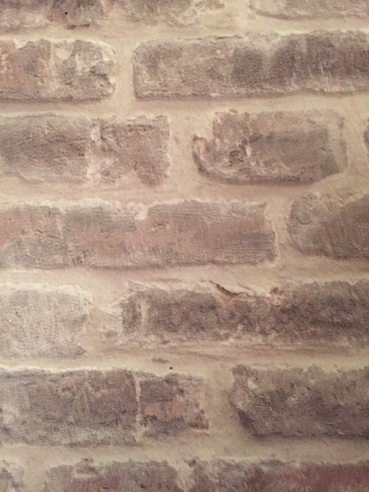 Vinyl natural 3d effect embossed stone brick textured for 3d embossed wallpaper