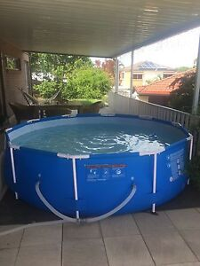 Swimming pool (above ground) steel pro frame 3.66m (as new) Carindale Brisbane South East Preview