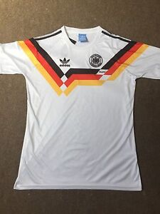 Germany Home 1990 Retro Vintage Football Shirt XL *1st CLASS RECORDED*