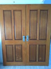 Double doors with all hardware plus lock and key Aroona Caloundra Area Preview