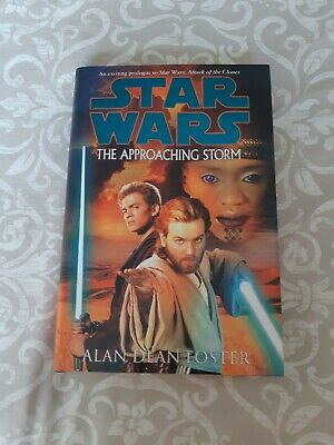 Star Wars Book The Approaching Storm Hardback