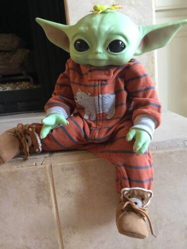 Reborn Grogu The Child from Star Wars -Mandalorian YODA BABY.