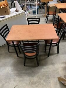 restaurant tables and chairs & Restaurant Tables Chairs | eBay