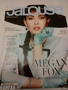 MEGAN FOX JALOUSE MAGAZINE FRENCH APR 2012 PAULA YATES FEATURE