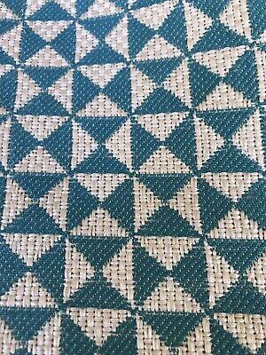 Clarke & Clarke Vertex curtain upholstery fabric Jade 1.75 metres