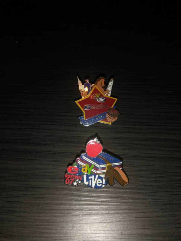 2007 EBay Live Boston Pins Collectible