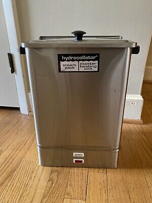 Chattanooga Hydrocollator E-1 Heating Unit with 4 Standard Pads
