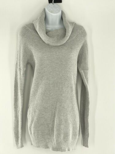Old Navy Cowl Neck Knit Maternity Gray Long Sleeve Sweater Top Women XS