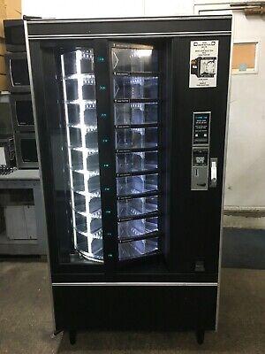 Crane National 431 Cold Food Vending Machine Led Lights 1s 5s