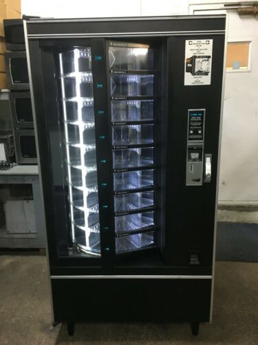 Crane National 431 Cold Food Vending Machine, LED Lights, $1