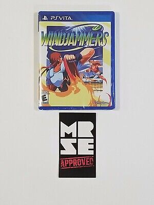 Windjammers Limited Run Games #91 for Sony PlayStation Vita New Sealed