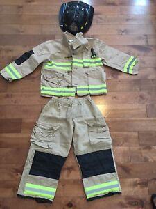 Costume de pompier  pour enfant 5 -6 ans