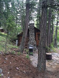 Cabin on Monroe lake in Kootenay s