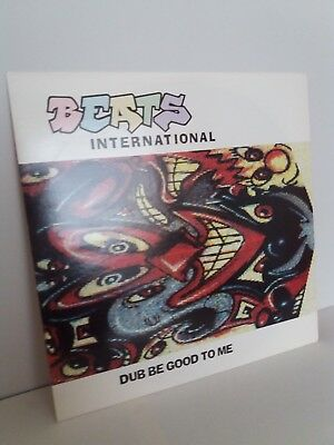 "Beats International Dub Be Good To Me - 12"" Vinyl 1990 Norman Cook Fat Boy Slim"