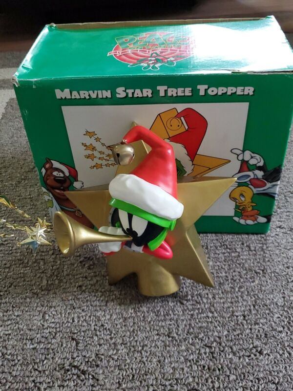 Marvin The Martian Vintage Tree Topper