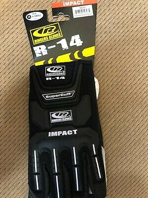 Ringers Gloves 148-07 R-14 Mechanics Cut Resistant Impact Work Gloves - Xs V