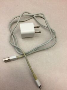 iPhone charger with USB cord