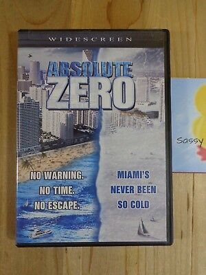 Absolute Zero 2006 DVD Movie Widescreen Unrated Jeff Fahey Erika Eleniak , used for sale  Shipping to India