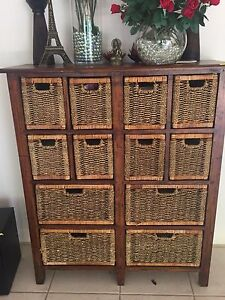 Solid timber storage chest Robina Gold Coast South Preview